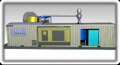 Линия гранулирования биомассы мобильная