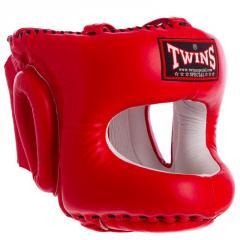 Шлем боксерский с бампером кожаный TWINS HGL-10 (