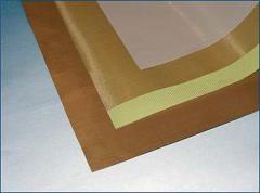 Teflon fabric on the glue basis (self-bonding) and