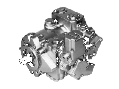 Axial and piston hydromotors 40 MMF025, MMF035,