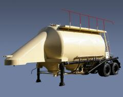 The ASP-25 semi-trailer with pneumounloading for