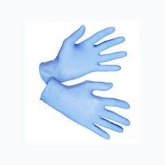 Перчатки одноразовые (латексные, виниловые,