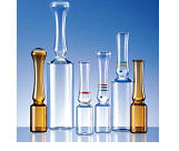 Ampoules from neutral borosilicate glass of the
