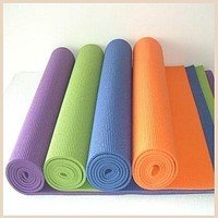 Yoga mat. A rug for yoga, fitness. 61kh173sm. 4 mm