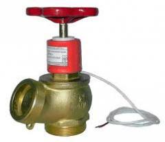 Sensor of provision of a fireplug of