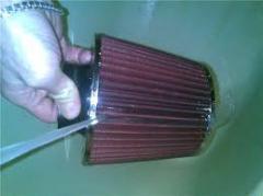 Filter of zero resistance VAZ of 2110