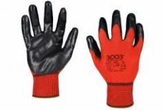Перчатки 3003 MICA, трикотажные с нитриловым обливом 1/2 (24013)