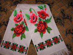 The embroidered bench hammers