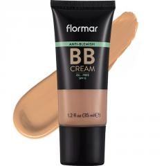 ВВ крем для проблемной кожи Flormar бежевый светлый 02 FAIR/LIGHT, 35 мл.