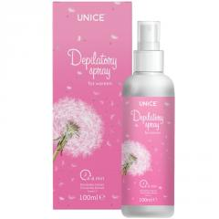 Спрей для эпиляции Unice Depilatory Spray 4-6 min women,100 мл