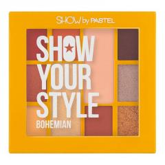 Палетка теней Pastel SHOW YOUR STYLE 461 Bohemian, 17 г