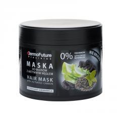 Маска Dermo Future Activated Carbon для волос с активированным углем, 300 г