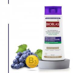 Шампунь против выпадения волос Unice BIOBLAS с процианидином, Набор 360+150 мл