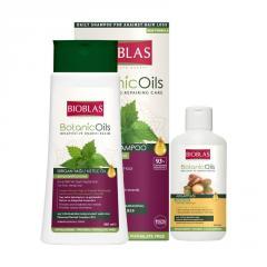 Шампунь для объема волос Unice Bioblas с экстрактом крапивы, Набор 360+150 мл