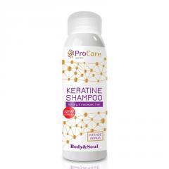 Шампунь для окрашенных волос Unice PRO Care Профессиональный уход с Кератином, 330 мл