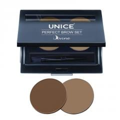 Набор для макияжа бровей Unice Divine PBS02, 5 г