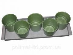Pots for seedlings