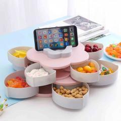 Фруктовая тарелка раздвижная - держатель телефона