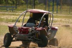 Driving on the buggy or ATVs