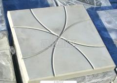 Тротуарная плитка вибролитая, плитка вибролитая