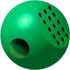 """Ball for washing of """"Magnofiks"""