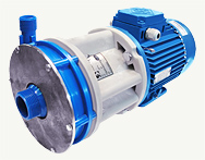 CENTRIFUGAL TIGHT CHEMICAL PUMPS HTsM and HTsM V-