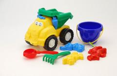 Toy equipment. Smile car dump truck No. 3. From