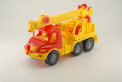 Atlantis car crane. Toys for boys.
