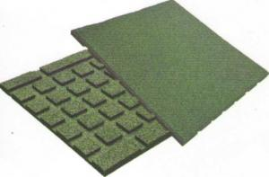 The pro-thinned-out rubber rug on the basis of a