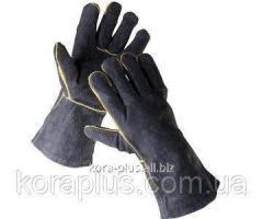Перчатки сварщика с крагами Sandpiper спилок