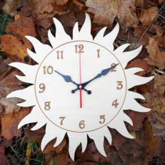Настенные детские деревянные часы с...