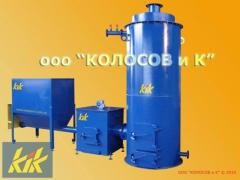 KT-300 a copper on spill, sawdust, pellets of 300