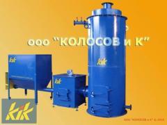 КТ-300 котел на щепе, опилках, пеллетах 300 кВт