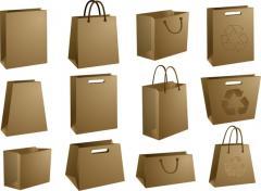 Пакеты бумажные в Украине, Купить, Цена, Фото