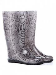 "Boots rubber, female ""Gray Are also"