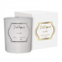 Ароматизированная подарочная свеча Unice Platin, 1 шт