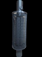 Труба-сетка конвектор с шибером ф115 L 1 м Ферингер