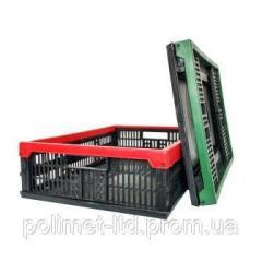 Ящик пластмасовый 480х350х126/60мм цветной