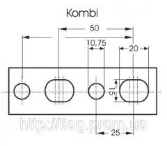 Монтажный профиль Т-20 1, 75мм (Траверса)...