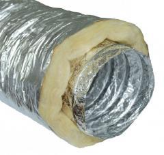 Изолированный гибкий воздуховод d127 мм