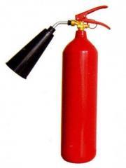 Utilization of fire extinguishers, utilization of