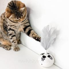 БЕГУЩИЙ ШАР - для домашних животных. Не боится