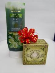 Мыло Thalia Olive Particles Soap + Скраб Thalia Olive Oil Body Scrub