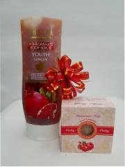 Мыло Thalia Pomegranate Soap + Скраб Thalia Pomegranate Scrab