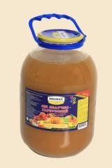Juice in banks, juice the sterilized 3 l, juice