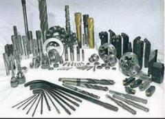 Tools diamond and hard-alloy