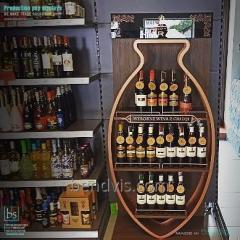 Commerce de supports étagères pour alcool