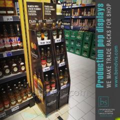 Butiksutrustning står för alkohol