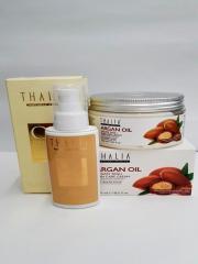 Масло для сухих поврежденных волос Thalia Oil hair care + Крем для лица и тела Thalia с аргановым маслом