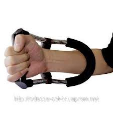 Expander for trainings on an armwrestling